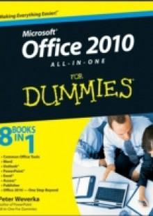 Обложка книги  - Office 2010 All-in-One For Dummies