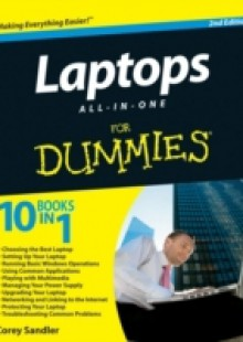 Обложка книги  - Laptops All-in-One For Dummies