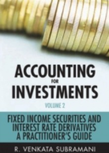 Обложка книги  - Accounting for Investments, Fixed Income Securities and Interest Rate Derivatives