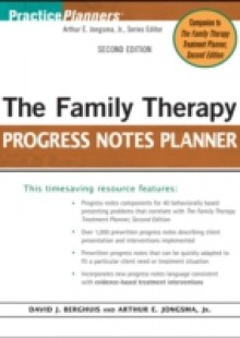 Обложка книги  - Family Therapy Progress Notes Planner