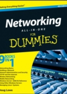 Обложка книги  - Networking All-in-One For Dummies