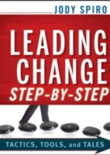 Обложка книги  - Leading Change Step-by-Step
