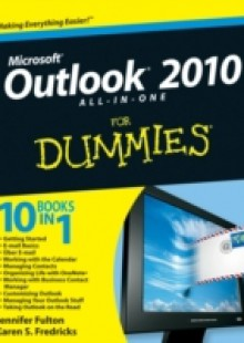 Обложка книги  - Outlook 2010 All-in-One For Dummies
