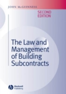 Обложка книги  - Law and Management of Building Subcontracts