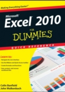 Обложка книги  - Excel 2010 For Dummies Quick Reference