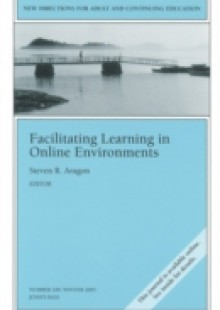 Обложка книги  - Facilitating Learning in Online Environments