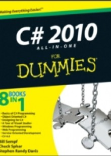 Обложка книги  - C# 2010 All-in-One For Dummies