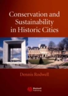 Обложка книги  - Conservation and Sustainability in Historic Cities