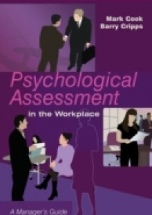 Обложка книги  - Psychological Assessment in the Workplace