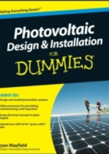 Обложка книги  - Photovoltaic Design and Installation For Dummies
