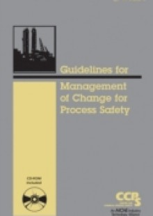 Обложка книги  - Guidelines for the Management of Change for Process Safety