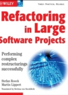 Обложка книги  - Refactoring in Large Software Projects