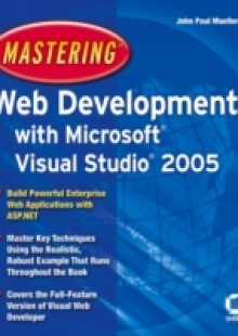 Обложка книги  - Mastering Web Development with Microsoft Visual Studio 2005
