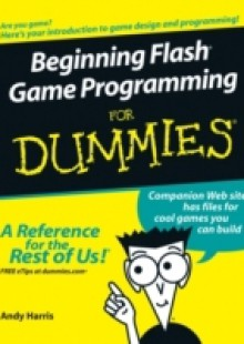 Обложка книги  - Beginning Flash Game Programming For Dummies