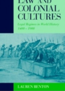 Обложка книги  - Law and Colonial Cultures
