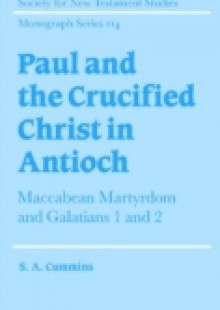 Обложка книги  - Paul and the Crucified Christ in Antioch