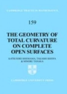 Обложка книги  - Geometry of Total Curvature on Complete Open Surfaces