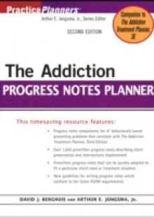 Обложка книги  - Addiction Progress Notes Planner