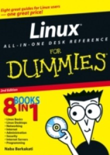 Обложка книги  - Linux All-in-One Desk Reference For Dummies