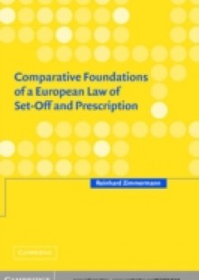 Обложка книги  - Comparative Foundations of a European Law of Set-Off and Prescription
