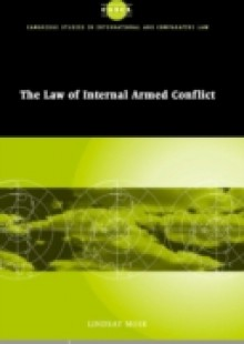Обложка книги  - Law of Internal Armed Conflict