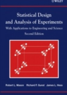 Обложка книги  - Statistical Design and Analysis of Experiments