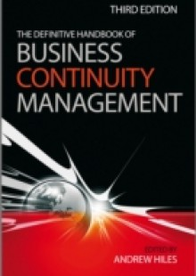 Обложка книги  - Definitive Handbook of Business Continuity Management