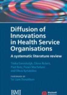 Обложка книги  - Diffusion of Innovations in Health Service Organisations