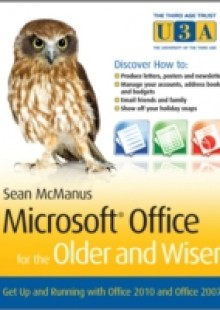 Обложка книги  - Microsoft Office for the Older and Wiser