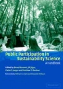 Обложка книги  - Public Participation in Sustainability Science