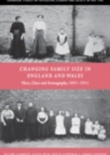Обложка книги  - Changing Family Size in England and Wales