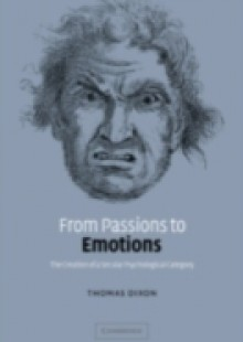 Обложка книги  - From Passions to Emotions