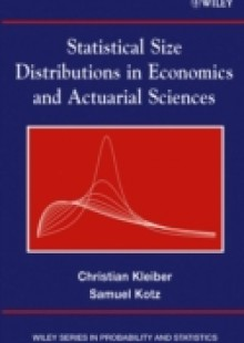 Обложка книги  - Statistical Size Distributions in Economics and Actuarial Sciences