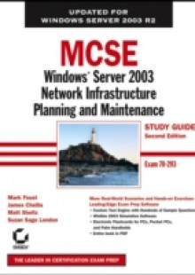 Обложка книги  - MCSE Windows Server 2003 Network Infrastructure Planning and Maintenance Study Guide