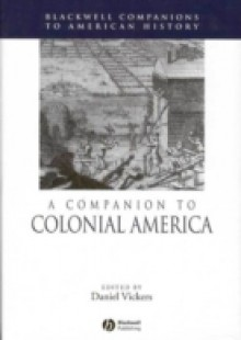 Обложка книги  - Companion to Colonial America