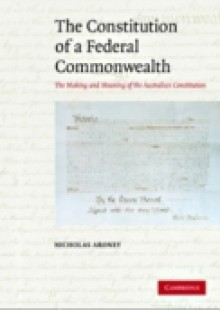 Обложка книги  - Constitution of a Federal Commonwealth