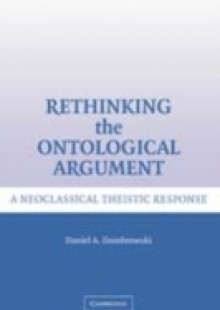 Обложка книги  - Rethinking the Ontological Argument