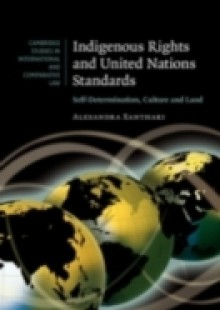 Обложка книги  - Indigenous Rights and United Nations Standards