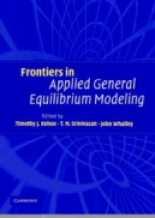 Обложка книги  - Frontiers in Applied General Equilibrium Modeling