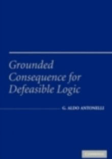 Обложка книги  - Grounded Consequence for Defeasible Logic