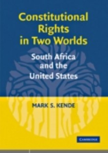 Обложка книги  - Constitutional Rights in Two Worlds