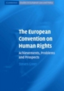 Обложка книги  - European Convention on Human Rights