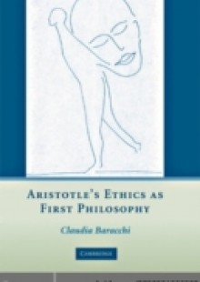 Обложка книги  - Aristotle's Ethics as First Philosophy