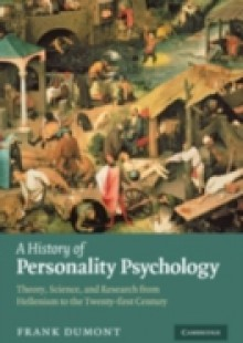 Обложка книги  - History of Personality Psychology
