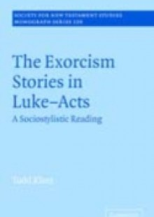 Обложка книги  - Exorcism Stories in Luke-Acts