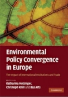 Обложка книги  - Environmental Policy Convergence in Europe
