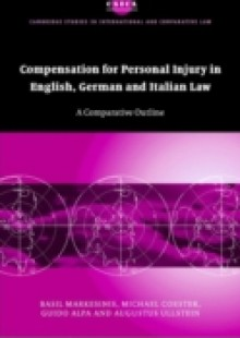 Обложка книги  - Compensation for Personal Injury in English, German and Italian Law