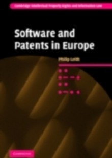 Обложка книги  - Software and Patents in Europe