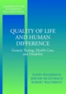 Обложка книги  - Quality of Life and Human Difference