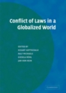 Обложка книги  - Conflict of Laws in a Globalized World